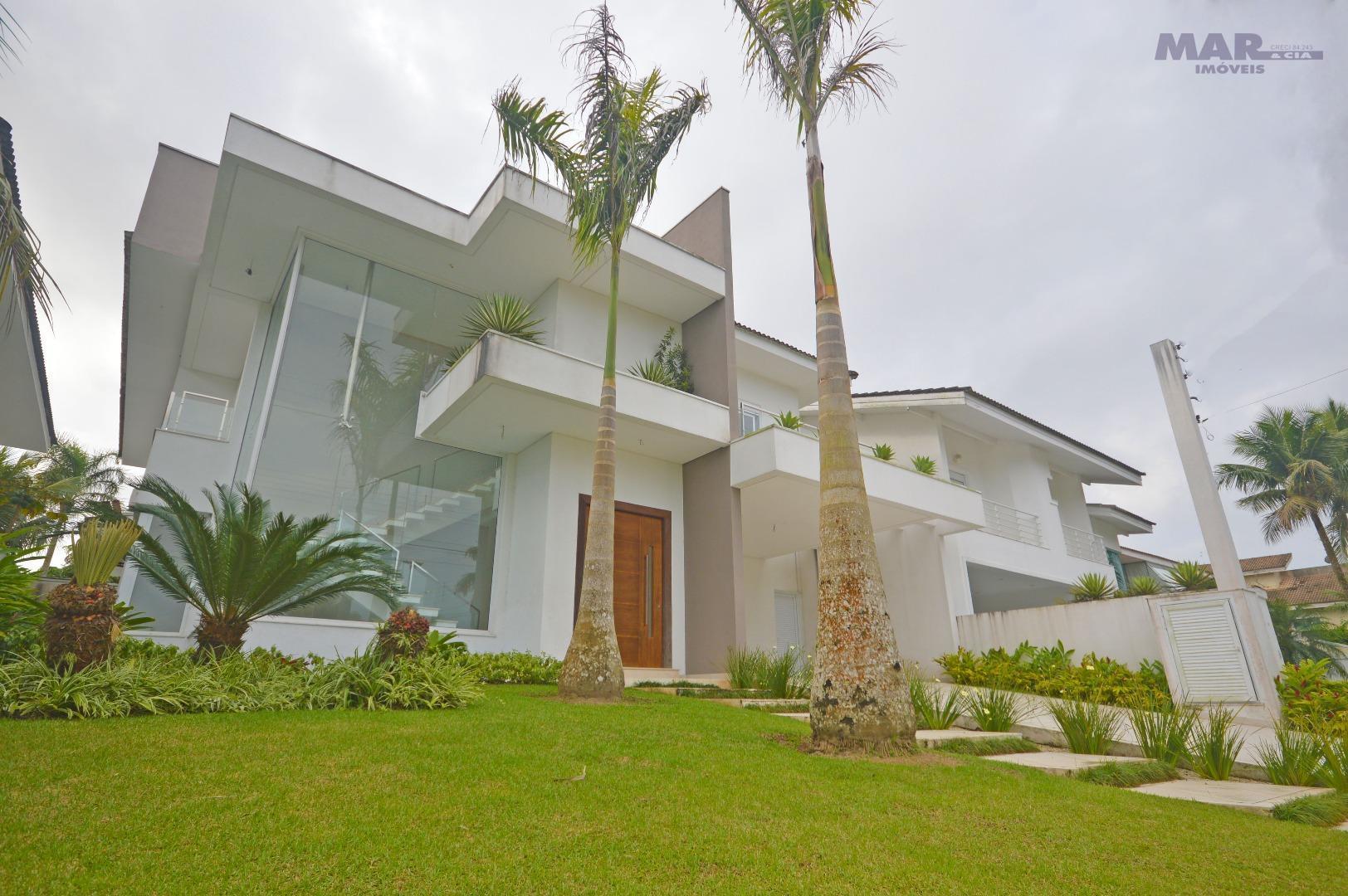 Casa em Condominio Acapulco Guarujá - Nova - Frente Praça - 5 Suítes