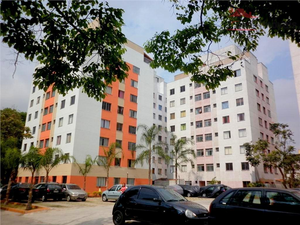 Apartamento residencial à venda, Itaquera, São Paulo - AP0574.