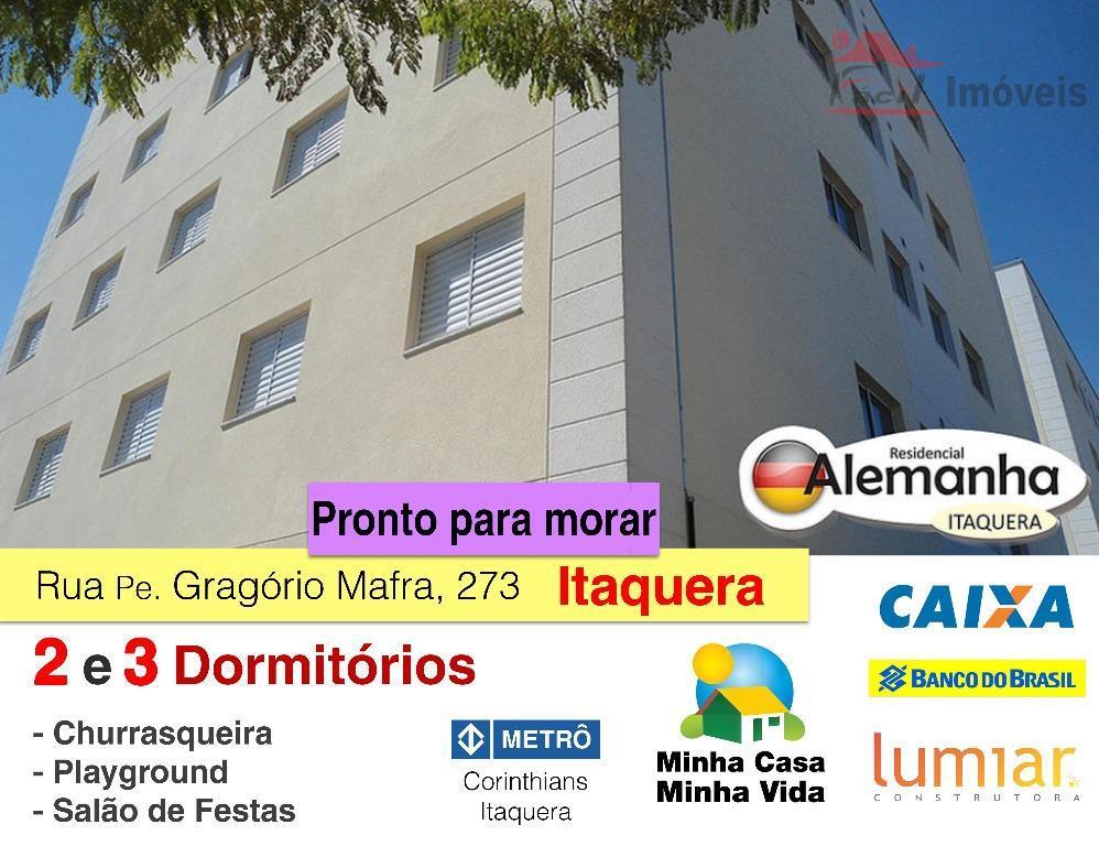 Apartamentos Novos 2 e 3 dormitórios | Itaquera, São Paulo.