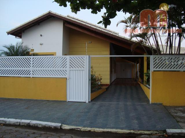 Casa residencial para locação, Parque Balneário Oásis, Peruíbe - CA0251.