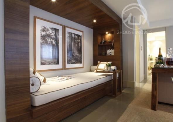 Apartamento 65.06 m2. 2 dorms. 1 suite. 1 vaga Previsao de entrega para Dezembro de 2013