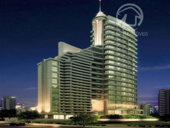 Sala com 84 m2. 2 vagas Salas comerciais. predio de 20 andares com mezanino projetando um altura de 40 andares com academia. restaurante. prox. da TV Globo. Av. Berrini. Marginal