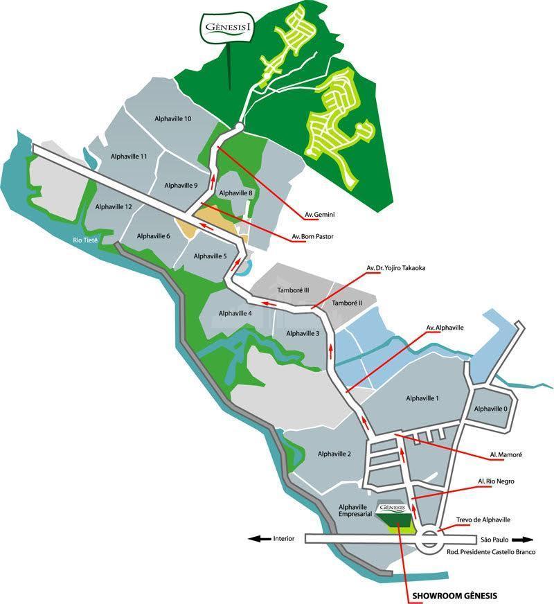 o gênesis é uma nova visão no segmento de condomínios residenciais, sensível à valorização social e...