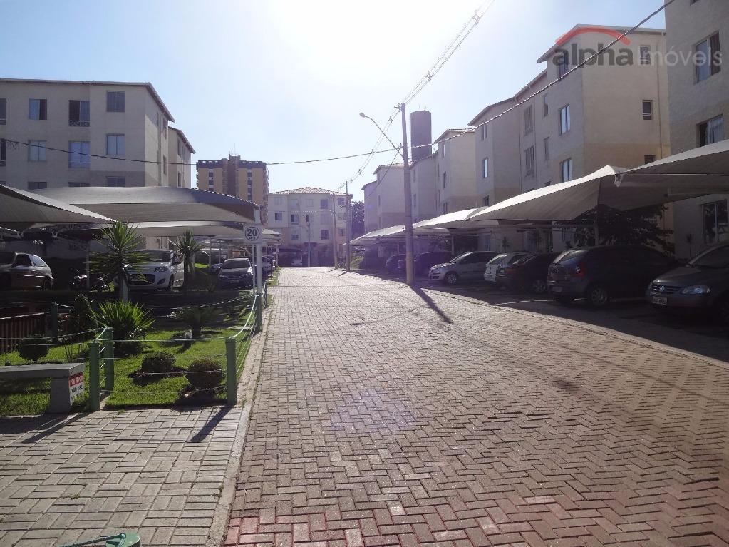 Apartamento residencial para locação, Vila São Francisco, Hortolândia - AP1219.