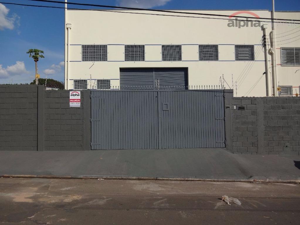 Galpão comercial para locação, Jardim Paulistinha, Hortolândia.