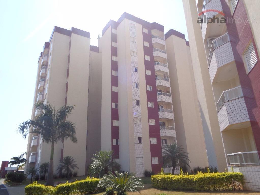 Apartamento residencial para locação, Planalto do Sol, Sumaré.