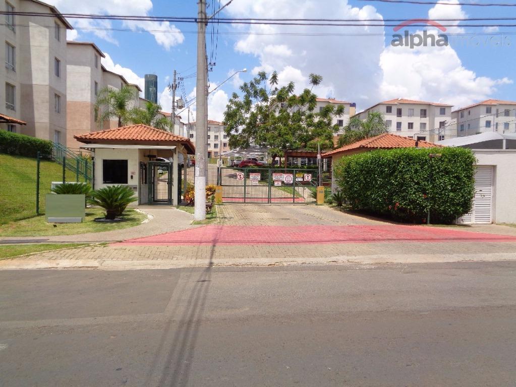 Apartamento residencial para locação, Vila São Francisco, Hortolândia.