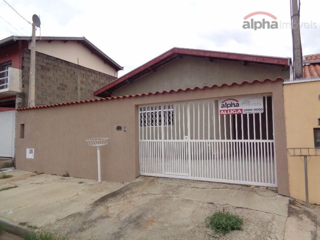 Casa residencial para locação, Jardim Santana, Hortolândia - CA0324.