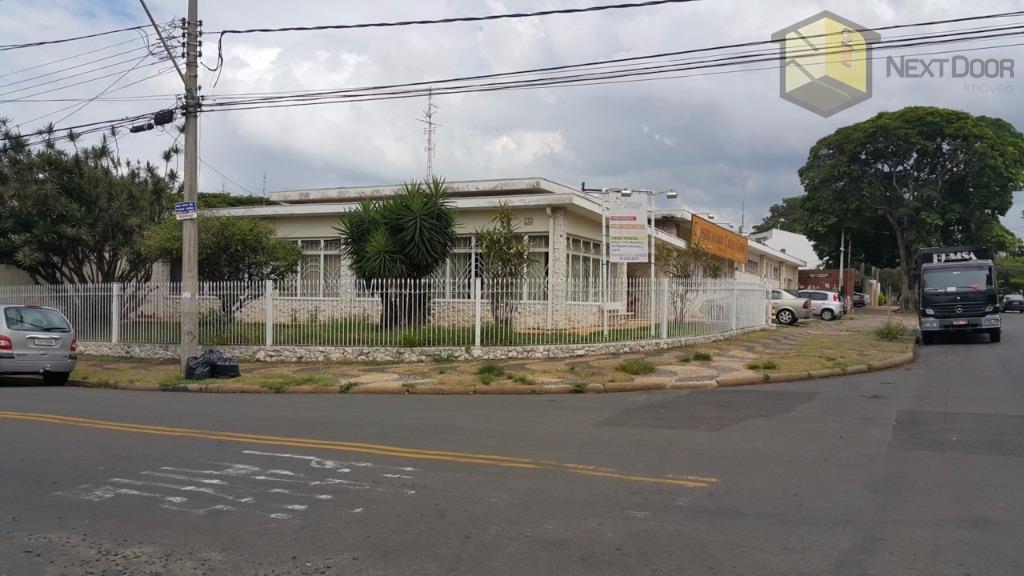 Casa comercial para locação, Nova Campinas, Campinas - CA0355.