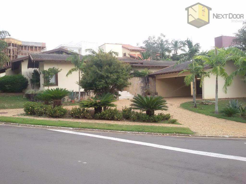 Casa residencial para venda e locação, Alphaville Campinas, Campinas - CA0411.