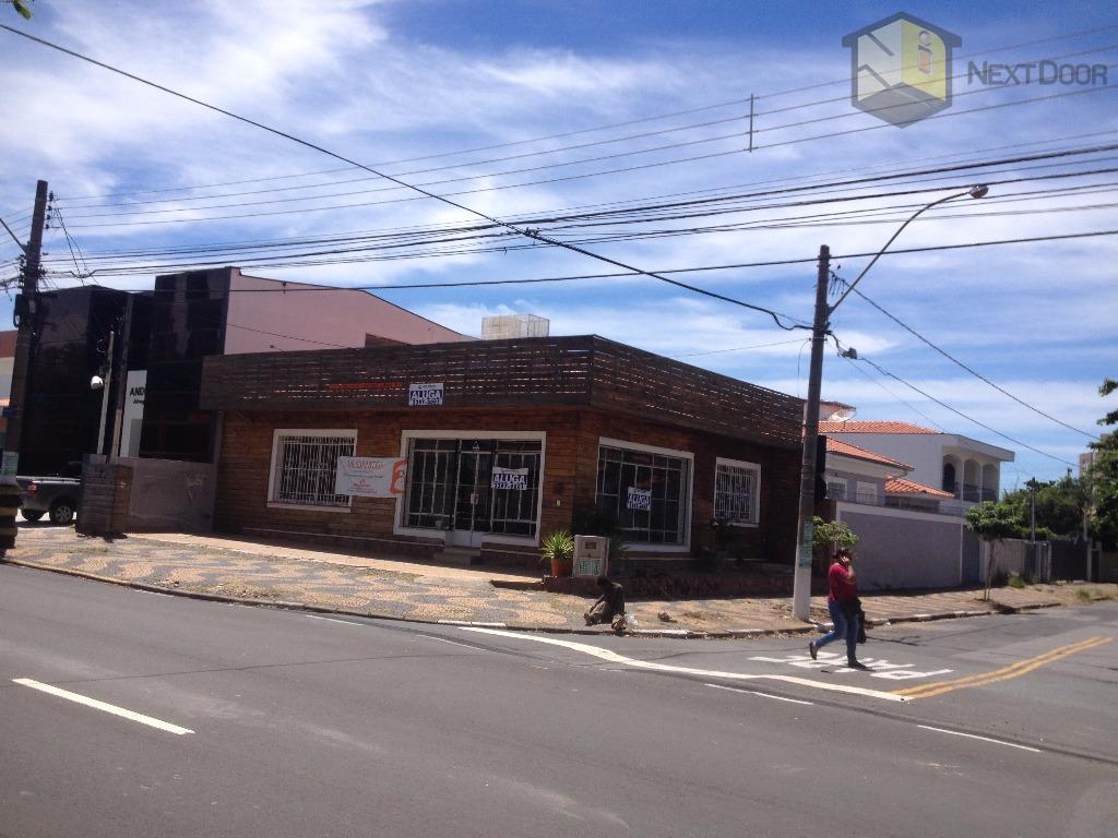 Casa comercial para locação, Taquaral, Campinas - CA0241.