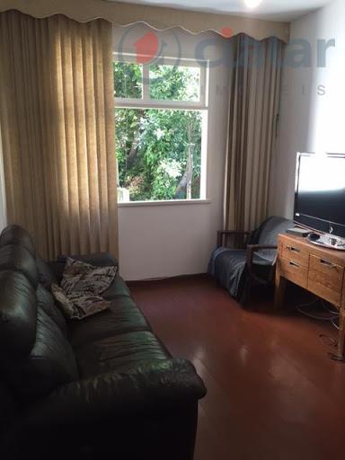 Apartamento residencial à venda, Laranjeiras, Rio de Janeiro - AP1399.