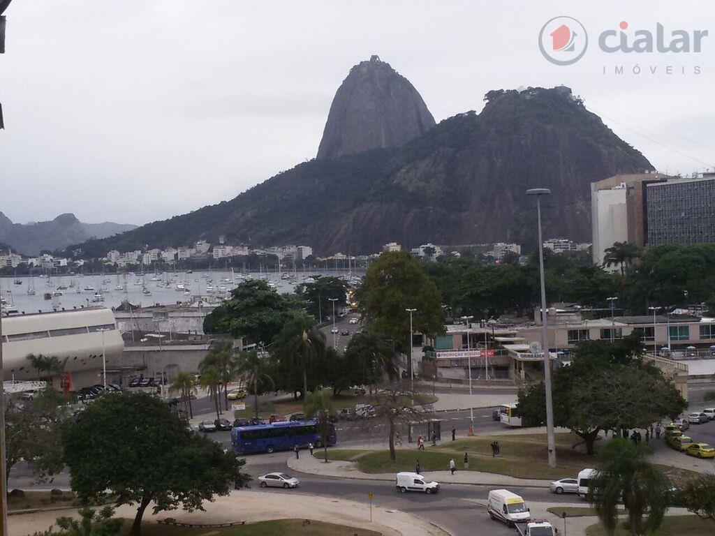 Apartamento residencial à venda, Botafogo, Rio de Janeiro - AP0342.