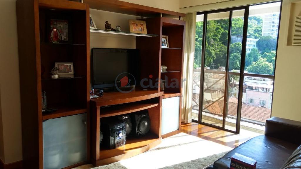 Apartamento residencial à venda, Botafogo, Rio de Janeiro.