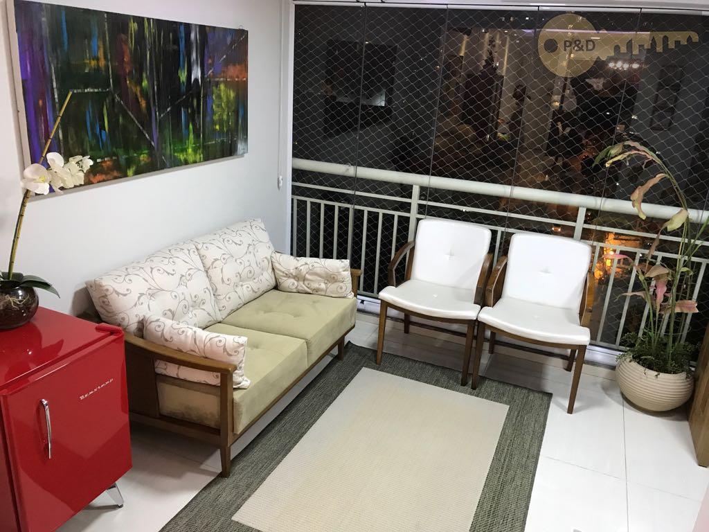 Apartamento Bem Decorado Charmoso E Com Excelente Estrutura De Lazer