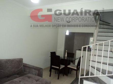 Sobrado de 2 dormitórios à venda em Parque São Vicente, Mauá - SP