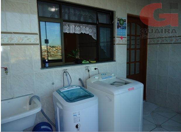 Sobrado de 3 dormitórios à venda em Parque Gerassi, Santo André - SP