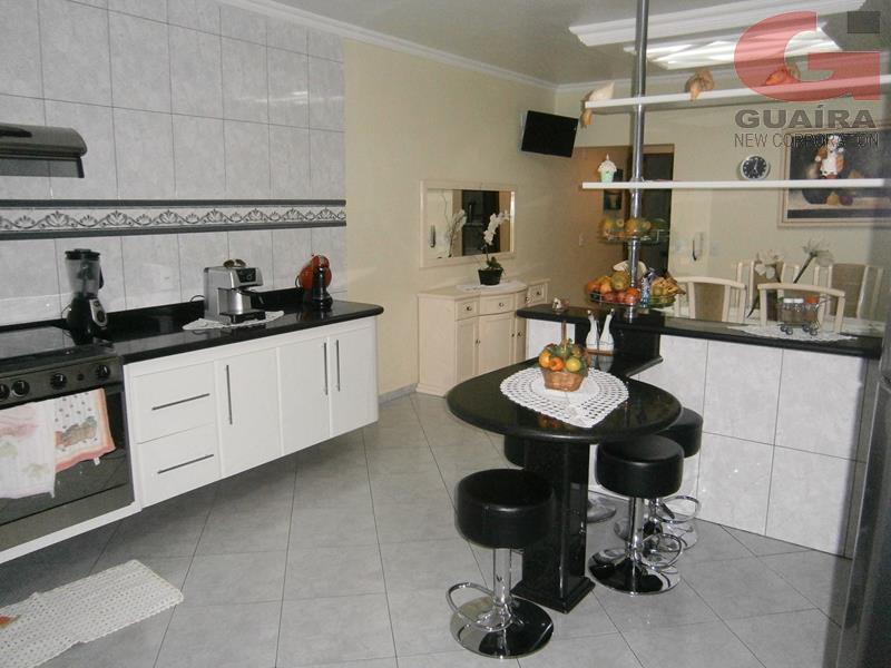Sobrado de 3 dormitórios à venda em Jardim Teles De Menezes, Santo André - SP