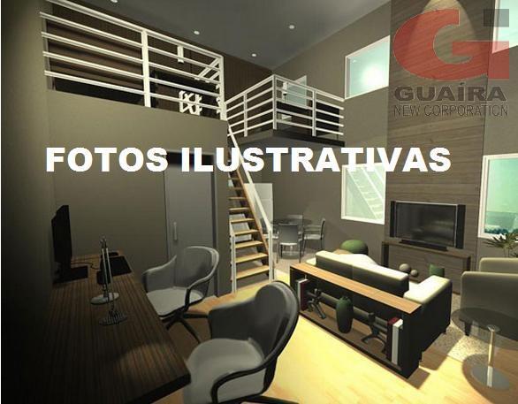 Loft de 1 dormitório à venda em Santa Teresinha, Santo André - SP