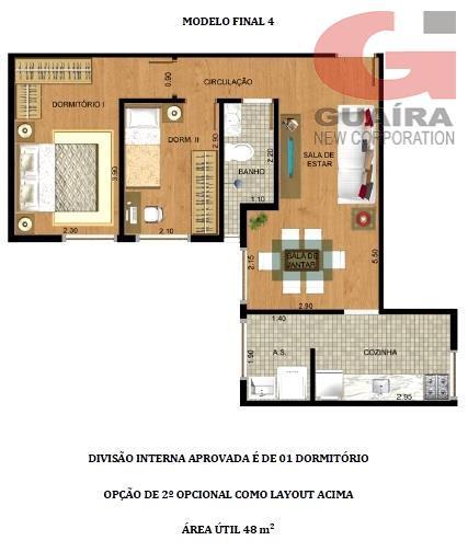 Apartamento de 3 dormitórios à venda em Nova Gerty, São Caetano Do Sul - SP