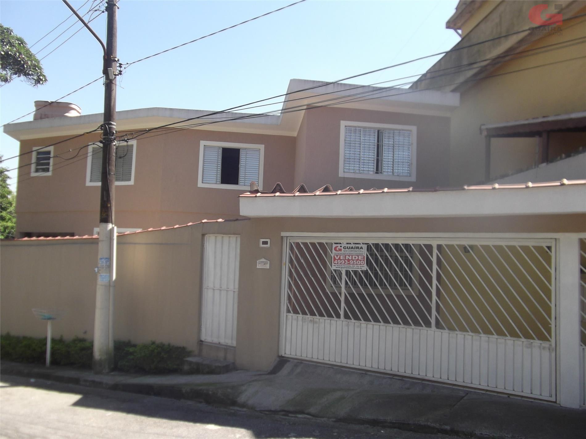 Sobrado de 3 dormitórios à venda em Jardim Alvorada, Santo André - SP