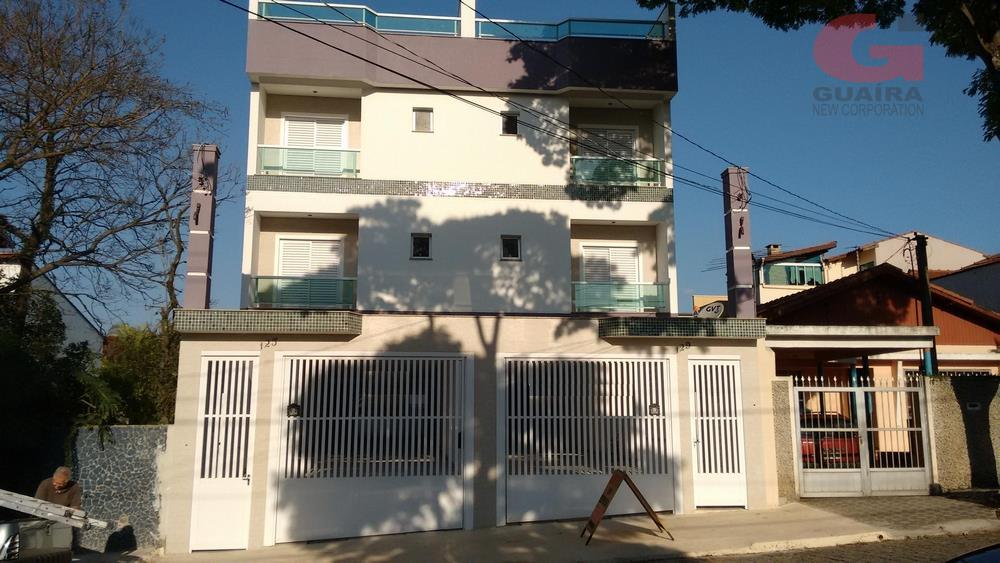 Apartamento de 2 dormitórios em Vila Alzira, Santo André - SP