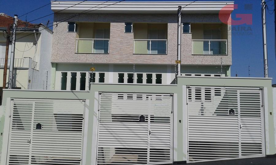 Sobrado de 2 dormitórios em Jardim Das Maravilhas, Santo André - SP