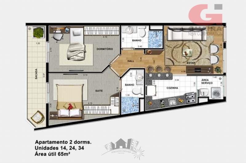 Cobertura de 2 dormitórios à venda em Vila Gonçalves, São Bernardo Do Campo - SP