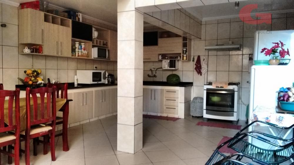 Casa de 3 dormitórios à venda em Vila Tibiriçá, Santo André - SP