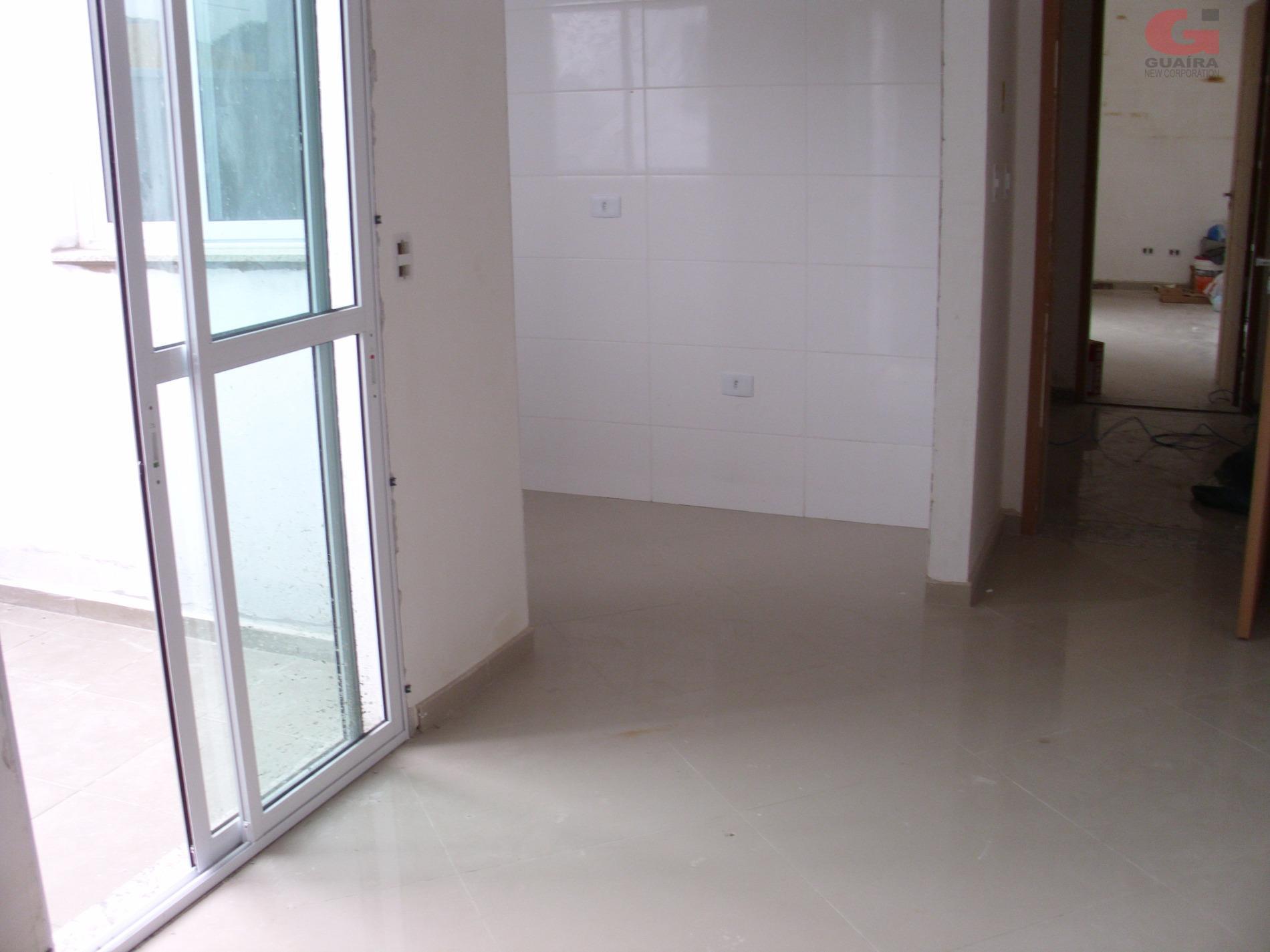 Apartamento de 2 dormitórios em Vila Linda, Santo André - SP