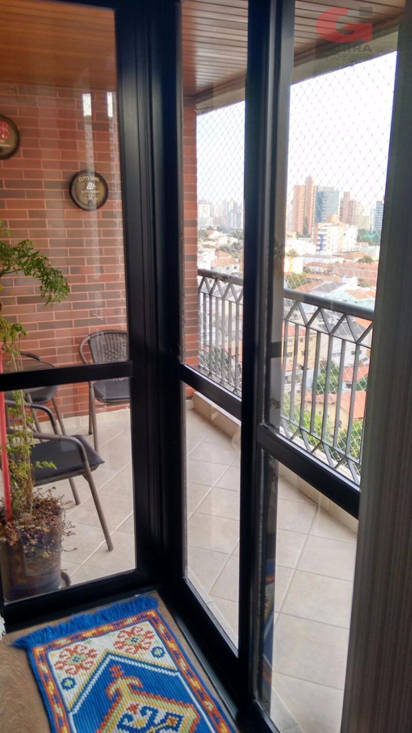 Apartamento de 4 dormitórios em Jardim Bela Vista, Santo André - SP