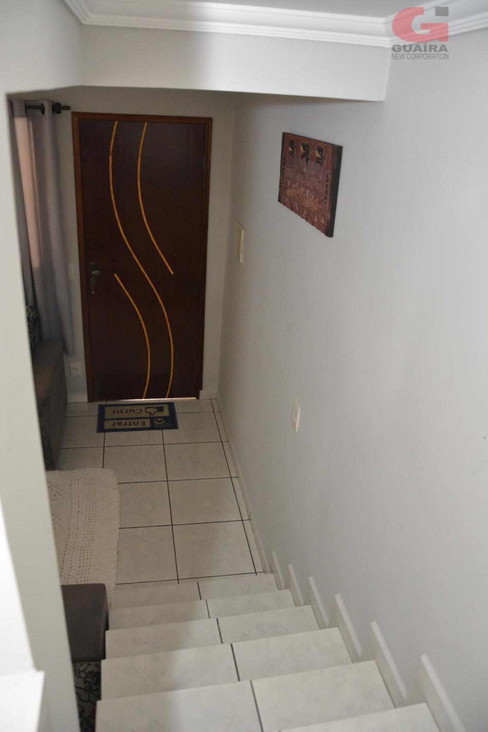 Sobrado de 2 dormitórios em Jardim Santo André, Santo André - SP