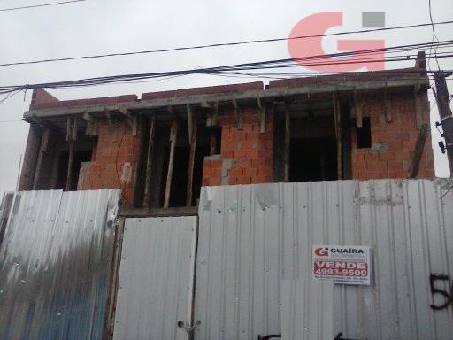 Sobrado de 2 dormitórios em Vila Homero Thon, Santo André - SP