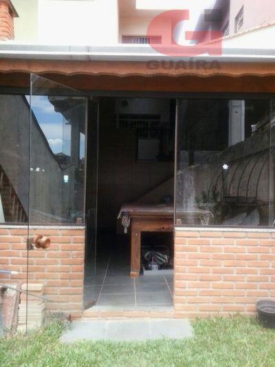 Sobrado de 2 dormitórios à venda em Vila Palmares, Santo André - SP