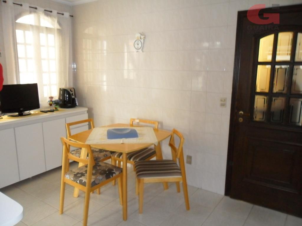 Sobrado de 3 dormitórios em Vila Alzira, Santo André - SP