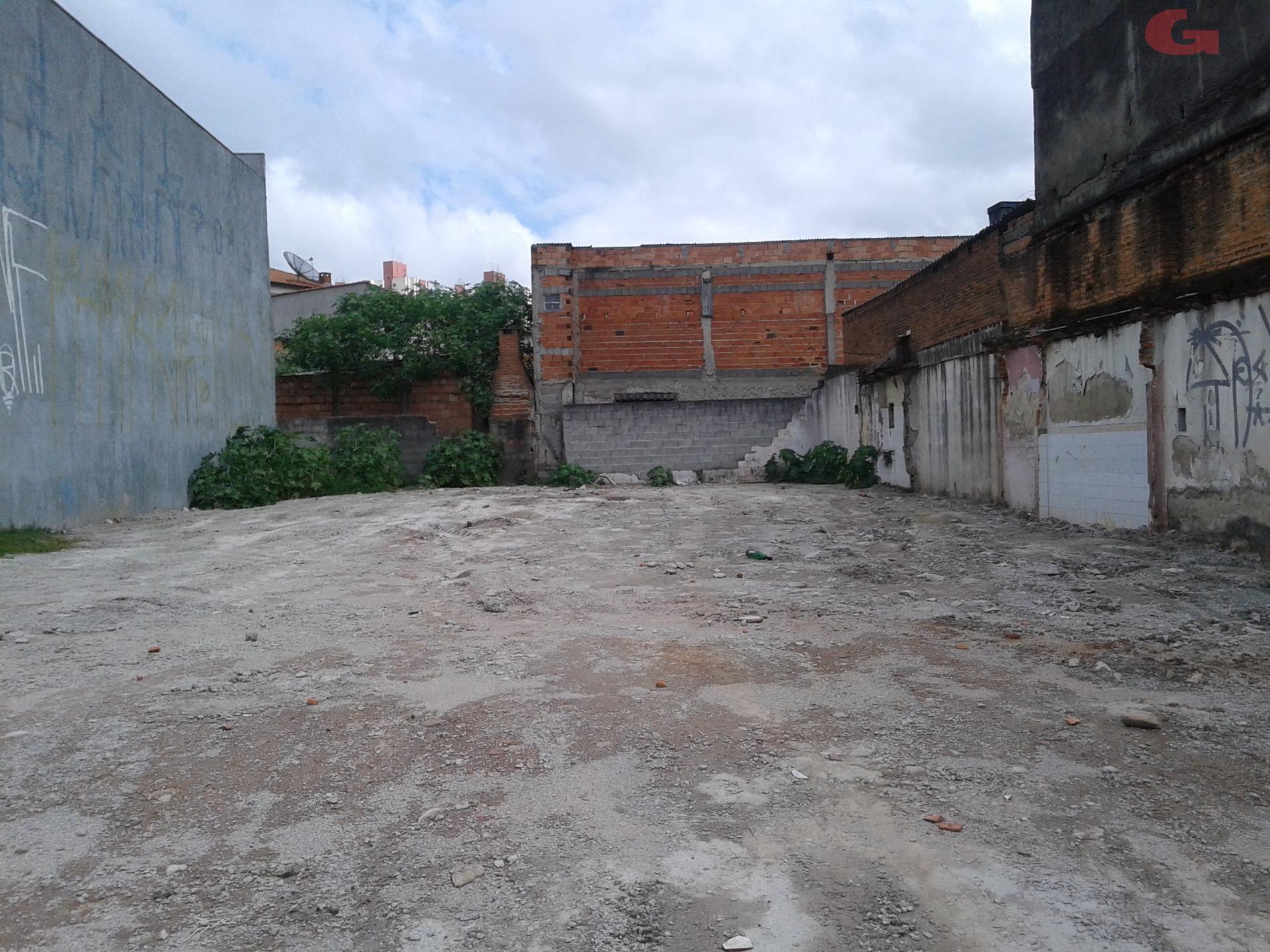 Terreno à venda em Vila Tibiriçá, Santo André - SP