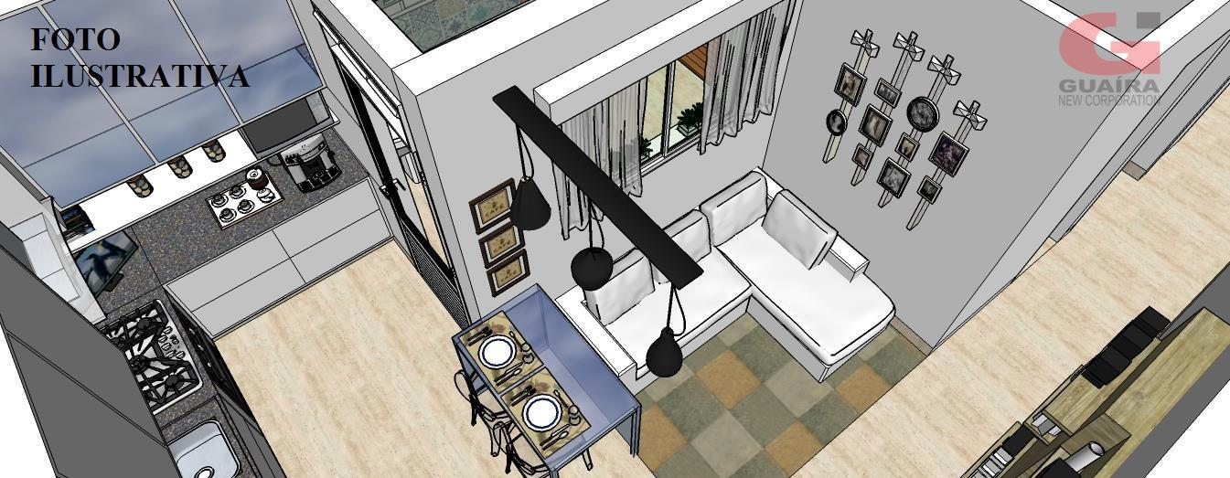 Apartamento de 2 dormitórios em Parque Das Nações, Santo André - SP