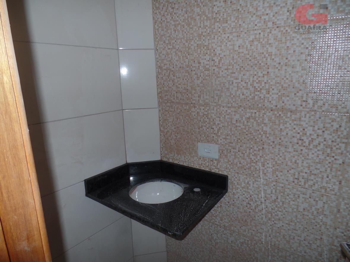 Sobrado de 2 dormitórios à venda em Vila Tibiriçá, Santo André - SP