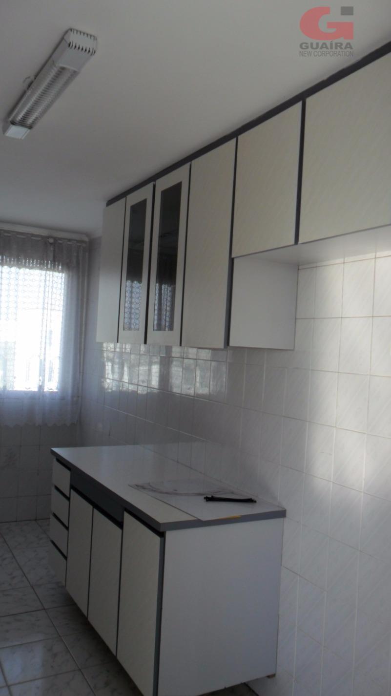 Apartamento de 2 dormitórios em Jardim Alvorada, Santo André - SP