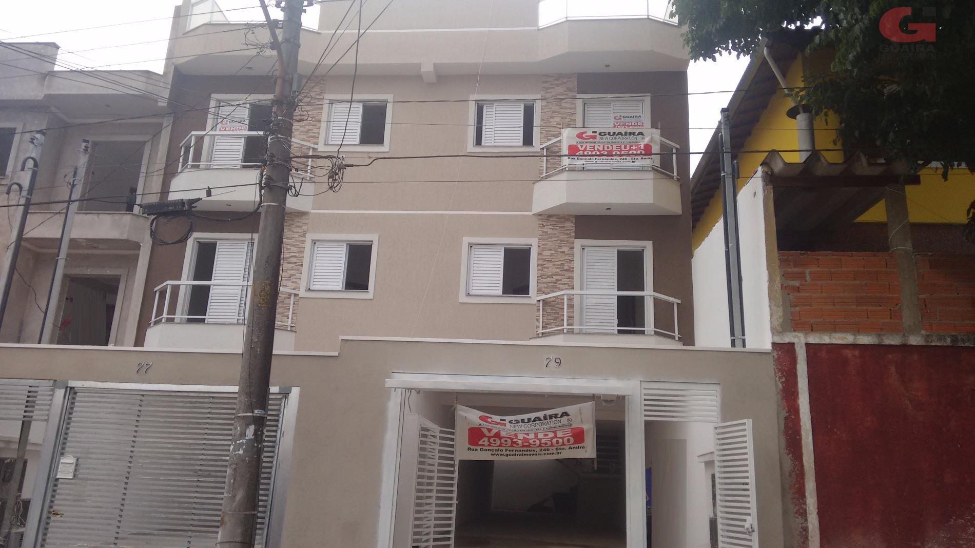 Apartamento de 2 dormitórios à venda em Vila Tibiriçá, Santo André - SP