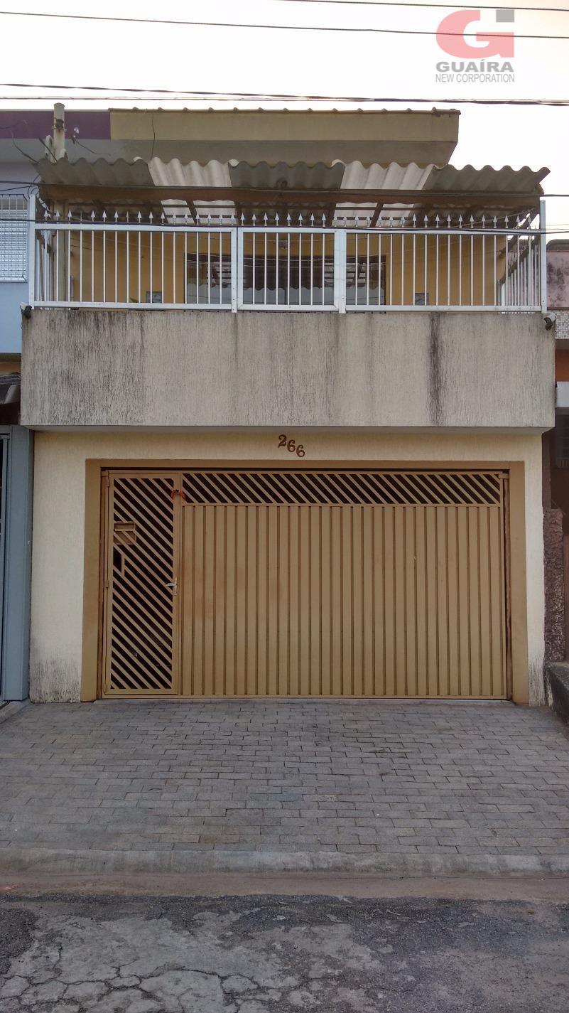 Sobrado de 3 dormitórios em Jardim Jamaica, Santo André - SP
