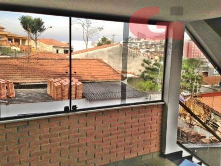 Sobrado de 3 dormitórios à venda em Vila Alzira, Santo André - SP