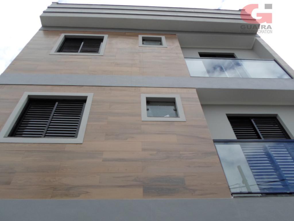 Cobertura de 2 dormitórios à venda em Jardim Stella, Santo André - SP