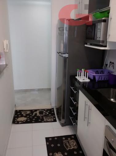 Apartamento de 2 dormitórios em Parque São Vicente, Mauá - SP