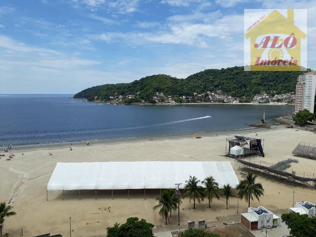 vista panoramica para mar , lado do centro historico de são vicente