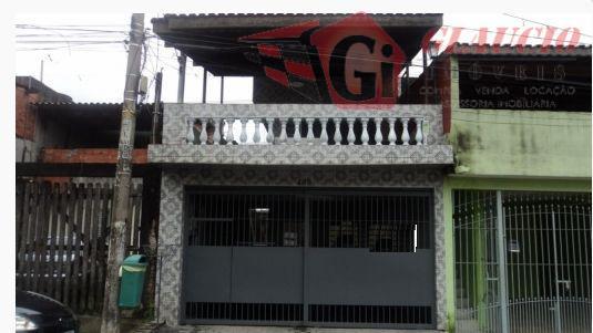 Sobrado residencial à venda, Jardim Mitsutani, São Paulo.