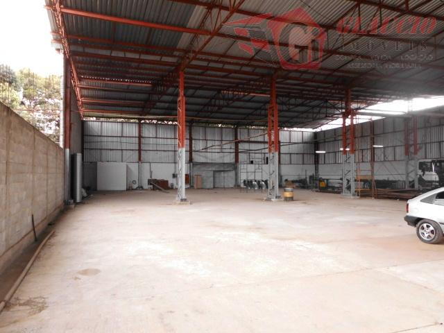 Galpão  comercial para locação, Estrada do Embu, Cotia.