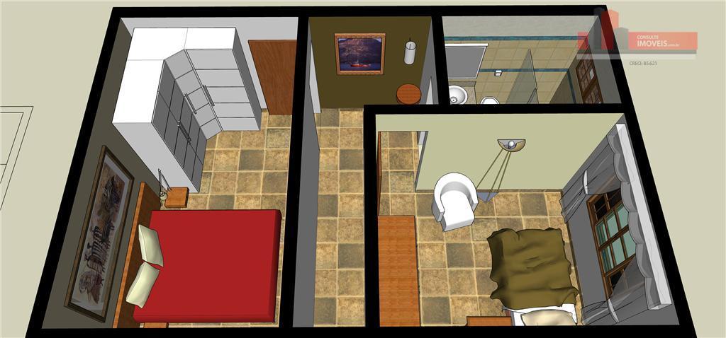 Total Imóveis - Casa 2 Dorm, Perdizes, São Paulo - Foto 3