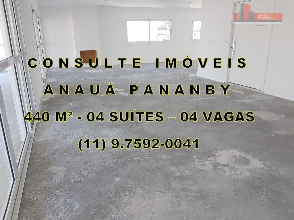 Apartamento de 4 dormitórios em Panamby, São Paulo - SP