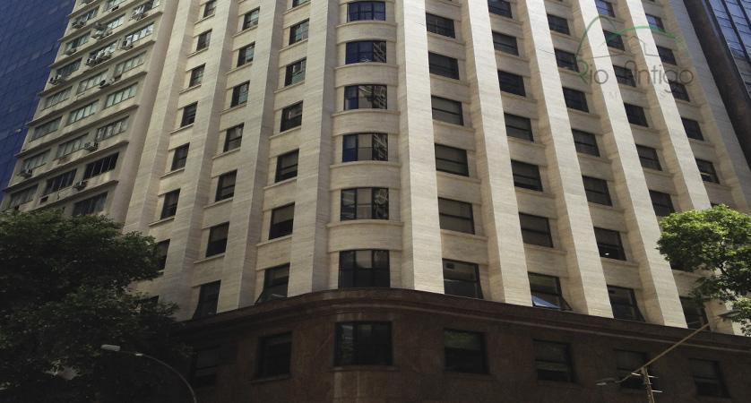 edifício multi-empresarial de alto luxo localizado na avenida rio branco entre as ruas sete de setembro...